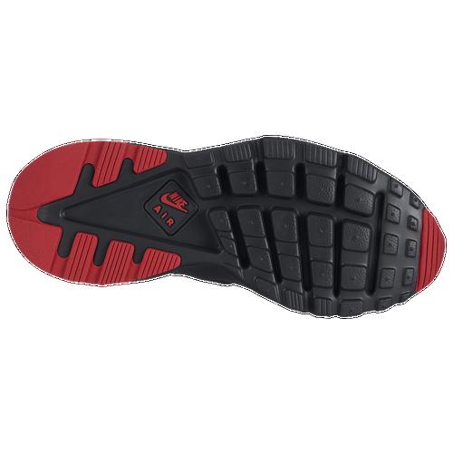 Nike Air Huarache Run Ultra - Men's - Casual - Shoes - Black/Metallic  Silver/University Red