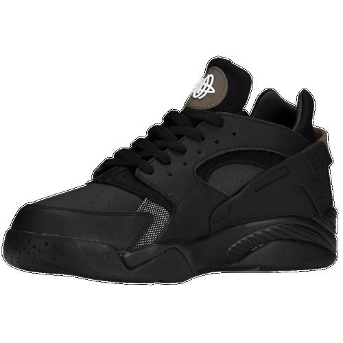 finest selection 8c911 e09b7 Nike Air Flight Huarache Low Mens Basketball Shoes Black Black Anthracite  Black 50