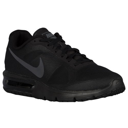 low-cost Nike Air Max Sequent Mens Running Shoes Black Black Dark Grey 3235d32a12e0