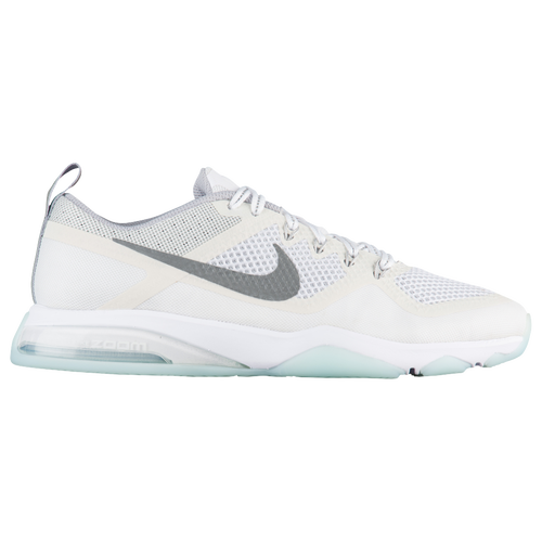 Nike Air Zoom Fitness Women's Training Shoes White/Glacier Blue