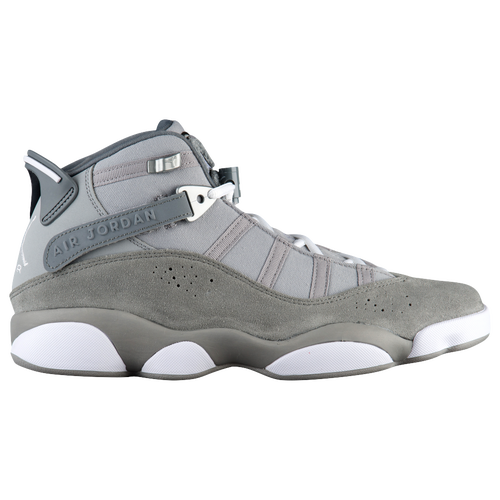 e76ad0a7ef69 Jordan 6 Rings Mens Basketball Shoes Matte Silver White Cool Grey Black  delicate.