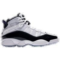 Jordan 6 Rings - Men's - White / Black
