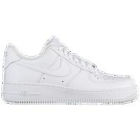 Nike Air Force 1 Blanco Swoosh Negro Sin Fondo línea más barata nzE5WSll1