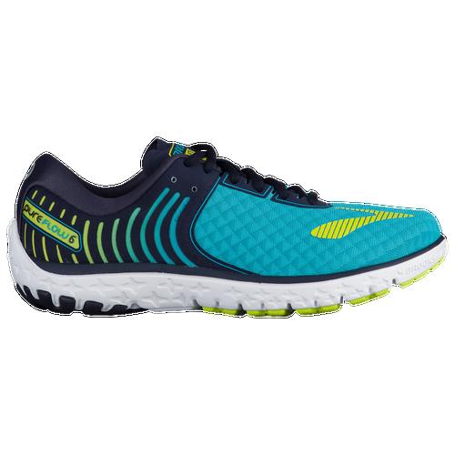 brooks pureflow 6 women 39 s running shoes bluebird peacoat lime punch. Black Bedroom Furniture Sets. Home Design Ideas