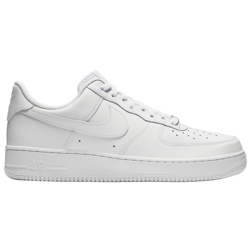 Nike Air Force  Casual Shoes White Gold