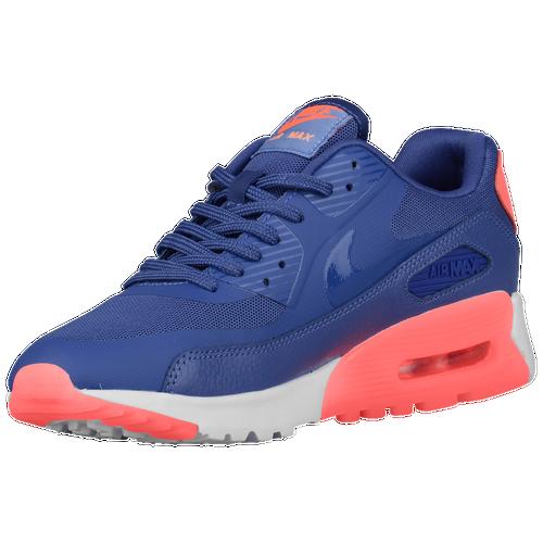 Nike Air Max 90 Denim Womens Running Shoes Dark Blue Gold
