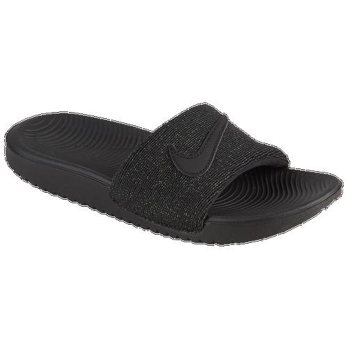 cheap for discount 1a5fc 31eef Nike Kawa Slide - Girls  Preschool - Casual - Shoes - Black Black
