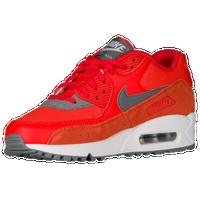 Nike Air Max 90 - Women's - Orange / Grey