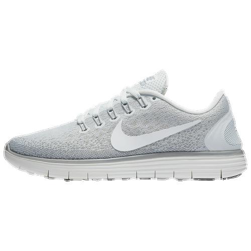 8ab8de4638c8 Nike Free RN Distance Womens Running Shoes Off White Summit White Light  Bone