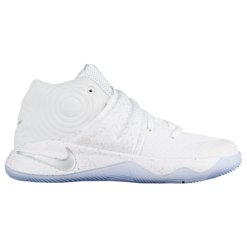 Nike Kyrie 2 - Boys' Preschool - Basketball - Shoes - Irving, Kyrie - White/Metallic  Silver/Tour Yellow