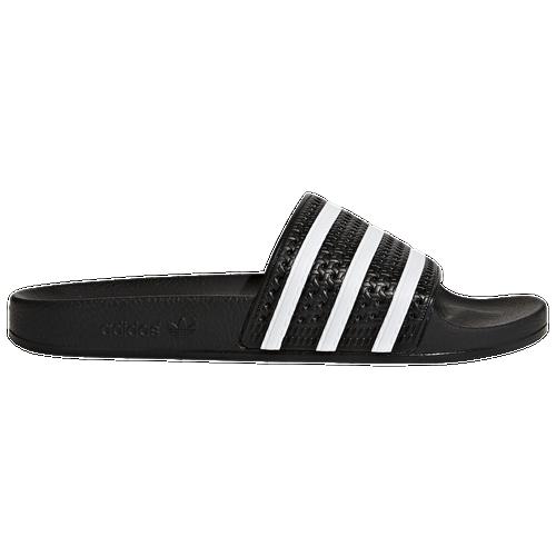 Adidas Originals Adilette Men Black/White/Black Casual Shoes 97460
