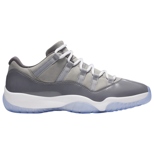 Jordan Retro 11 Low - Men's - Basketball - Shoes - Medium Grey/White/Gunsmoke