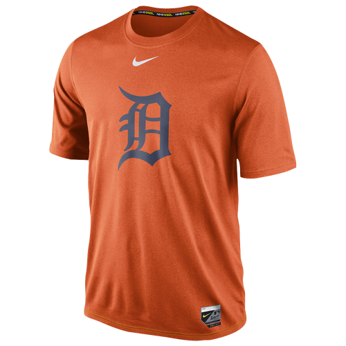 25b3e038b248 Nike MLB AC DriFIT Legend Logo TShirt Mens Clothing Detroit Tigers Spice  Orange hot sale