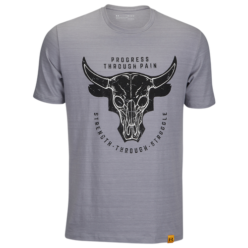 f47e0f6e05b Under Armour Project Rock STS Bull Logo T-Shirt - Men s - Clothing