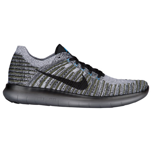 2b644b3b2c1a ... canada nike free rn flyknit mens running shoes cargo khaki blue glow  dark grey black eef52