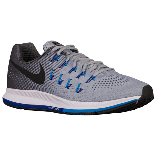 info for 7ee0e 60c20 85%OFF Nike Air Zoom Pegasus 33 Mens Running Shoes Wolf Grey Blue Glow