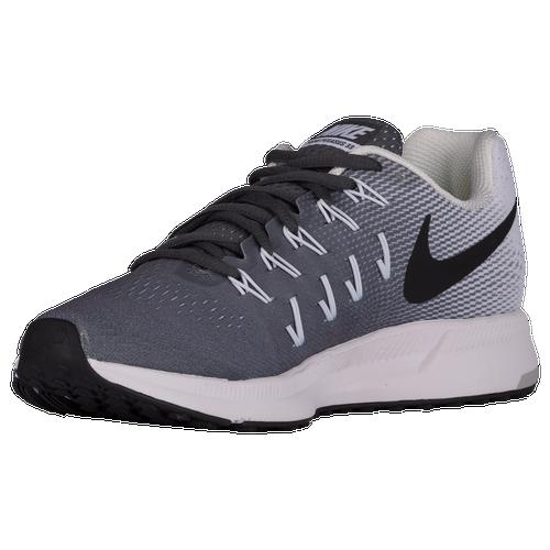 on sale ca078 149e6 Nike Air Zoom Pegasus 33 Womens Running Shoes Dark Grey White Black cheap