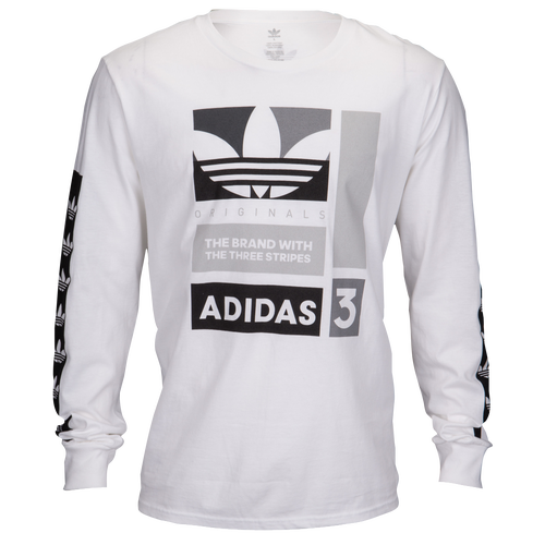 adidas Originals Graphic Long Sleeve T-Shirt - Men's - Casual ...