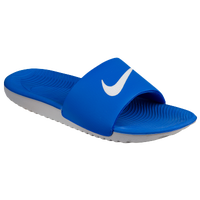 989b34120fd Nike Kawa Slide - Mens - Blue White