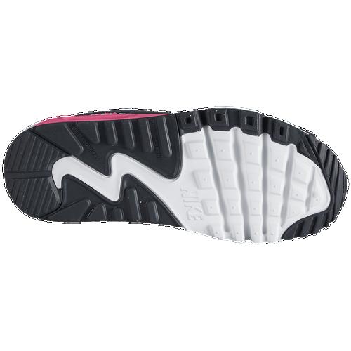 nike air max 90 ragazze della scuola elementare di scarpe casual antracite