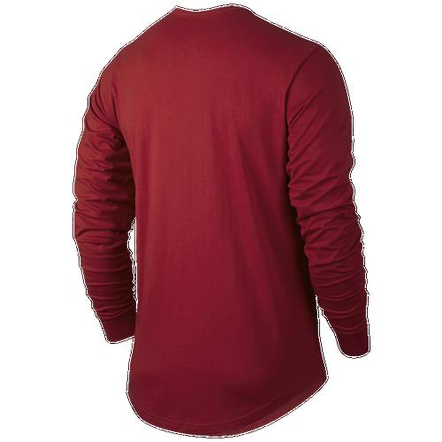 Jordan Retro 6 Long Sleeve T-Shirt - Men's - Basketball - Clothing ...