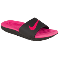 under armour sandals for girls. nike kawa slide - girls\u0027 preschool black / pink under armour sandals for girls a