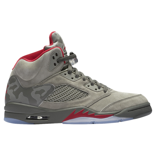 Jordan Retro 5 - Men's - Basketball - Shoes - Dark Stucco/University  Red/River Rock/Bio Beige