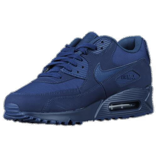 all navy blue nike air max 90