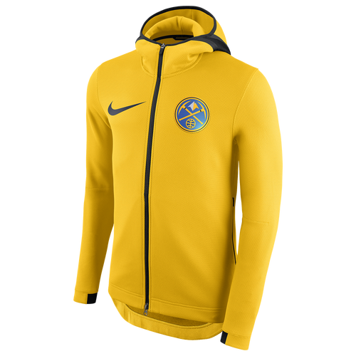Denver Nuggets Zip Up Hoodie: Nike NBA Player Showtime Therma Full-Zip Hoodie