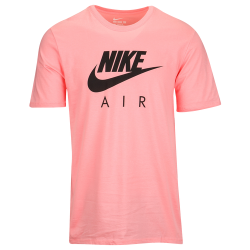 Nike graphic t shirt men 39 s casual clothing bright for Mens dark pink dress shirt