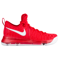 Nike KD 9 - Men\u0027s - Kevin Durant - Red / White