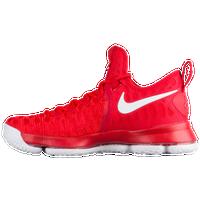 Nike KD 9 - Men\u0027s - Kevin Durant - Red / White