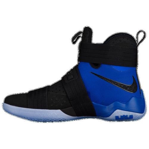 Nike LeBron Soldier 10 - Men\u0027s - Basketball - Shoes - James, LeBron -  Black/Game Royal
