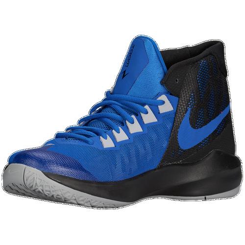 448cc0e6e39a Nike Zoom Devosion Mens Basketball Shoes Game Royal Metallic  Silver Black Photo Blue