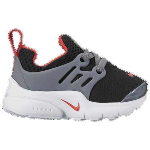 Nike Presto - Boys' Toddler - Casual - Shoes - Black/Max Orange/Cool Grey/ White