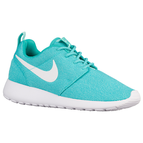 d90ed173d433 80%OFF Nike Roshe One Womens Running Shoes Clear Jade White Hyper Turquoise