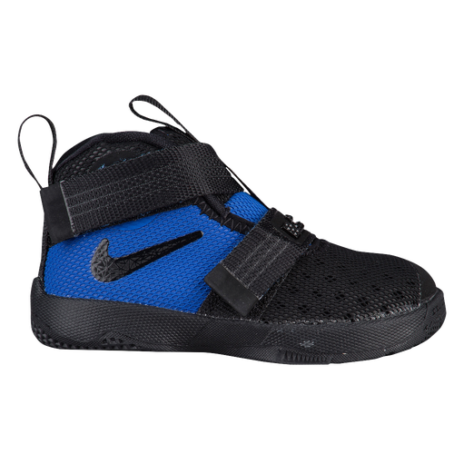 nike lebron soldier 10 boys toddler basketball shoes james lebron black white game royal