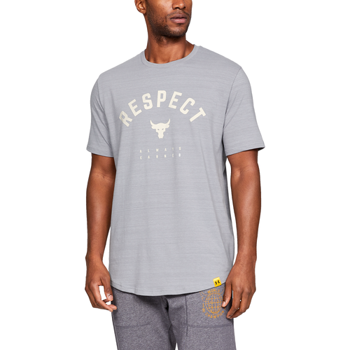 Under Armour Project Rock S S T Shirt Men S Clothing
