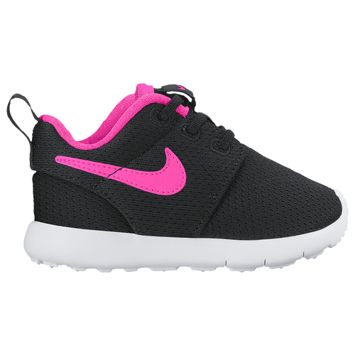 check out fd587 3f17f 30%OFF Nike Roshe One Girls Toddler Running Shoes Black/Pink Blast/White