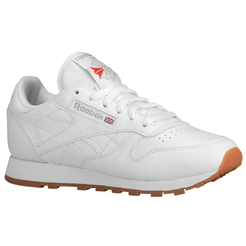 reebok shoes classic white. reebok classic leather - women\u0027s white / tan shoes