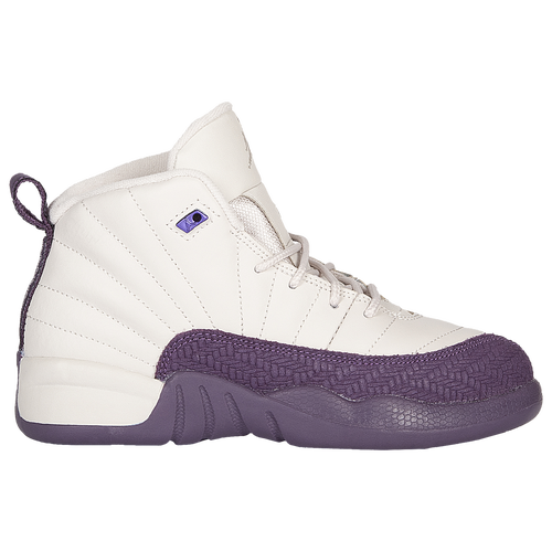 c885507e517a Jordan Retro 12 - Girls  Preschool - Basketball - Shoes - Desert  Sand Desert Sand Pro Purple