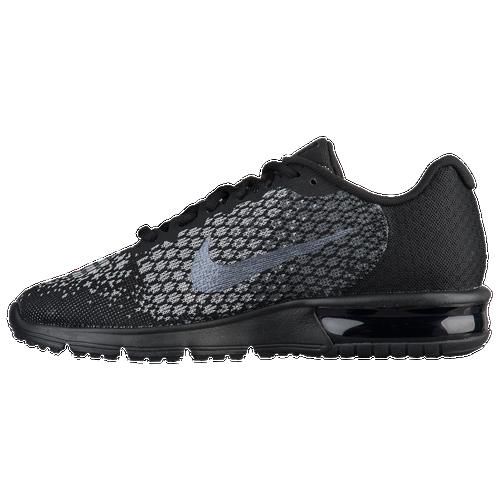 0be5dff3a4df7 Nike Air Max Sequent 2 - Women s - Running - Shoes - Black Metallic  Hematite Dark Grey Wolf Grey