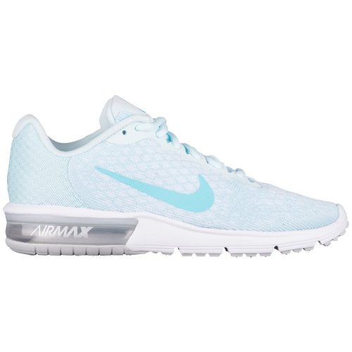 Nike Air Max Sequent 2 Womens 852465 014 Glacier Blue Running Shoes Size 9