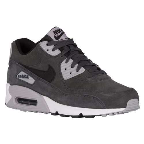 30%OFF Nike Air Max 90 Mens Running Shoes Anthracite Black Wolf Grey ... 912f135017d0