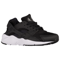 Nike Huarache Run - Boys\u0027 Grade School - Black / White