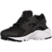 Nike Huarache Run - Boys\u0027 Grade School - Black / White