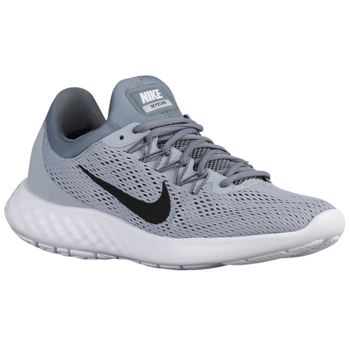 newest 124c7 11065 durable modeling Nike Lunar Skyelux Mens Running Shoes Wolf Grey Cool  Grey White