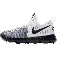Nike KD 9 - Boys\u0027 Preschool - Kevin Durant - White / Black