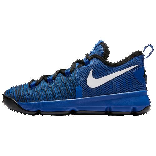 ad833cef22e Nike KD 9 - Boys u0027 Preschool - Kevin Durant - Blue   White