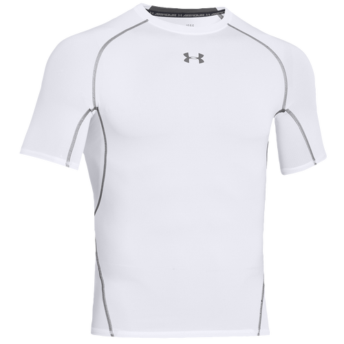 Under armour heatgear armour compression s s shirt men 39 s for Under armour heatgear white shirt